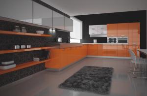 turuncu akrilik